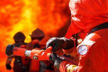 ۱۲ نفر از آتش سوزی مجتمع مسکونی در مشهد نجات یافتند