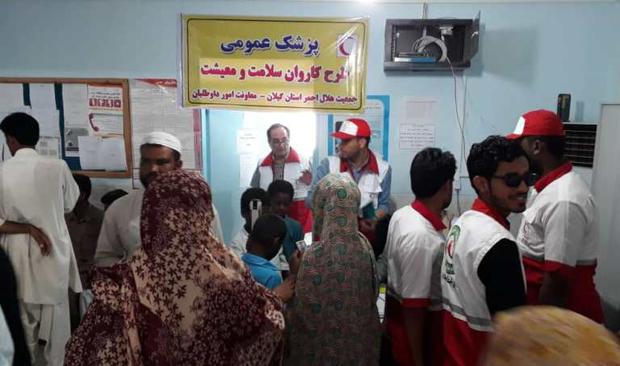 یک هزار و 387 نفر از روستاییان سیستان و بلوچستان ویزیت شدند
