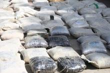 بیش از نیم تن مواد مخدر در پارسیان کشف شد