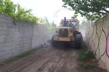 28 دیوار کشی غیرمجاز در اراضی کشاورزی پردیس تخریب شد