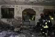 آتش سوزی به یک واحد مسکونی خمین 2 میلیارد ریال خسارت زد