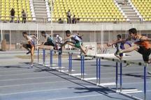 یک خوزستانی رکورد دو 110 متر با مانع ایران را شکست