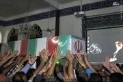 وداع با شکوه مردم نوشهر با یک شهید گمنام