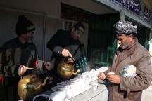 250 خادم رضوی به زائران اربعین حسینی در عراق خدمت می کنند