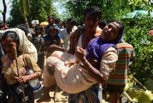 بیش از یک میلیون مسلمان میانماری به بنگلادش پناه برده اند