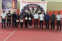 تبریز، میزبان مسابقات آزاد دارت قهرمانی زنان کشور