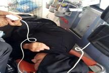 نجات جان مادر باردار در جاده اهواز - اندیمشک