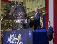کپسول فضایی حامل فضانوردان به ماه تکمیل شد
