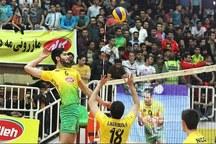 پیروزی تیم والیبال کاله مازندران بر شهرداری ارومیه