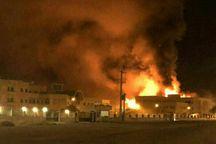 آتش سوزی در کرج 9 نفر را روانه بیمارستان کرد