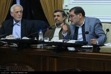 حضور احمدی نژاد در جلسه مجمع تشخیص مصلحت نظام + عکس