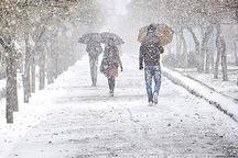 بارش برف و باران قزوین را فرا می گیرد