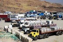 428 میلیون دلار کالا از مرز مهران به عراق صادر شد