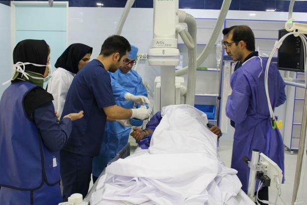 بخش آنژیوگرافی بیمارستان پیمانیه جهرم راه اندازی شد