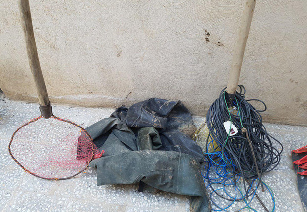 متخلفان صیدماهی با موتور برق در پیرانشهر دستگیر شدند