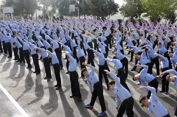 ورزش صبحگاهی در 35 هزار مدرسه کشور برگزار می شود