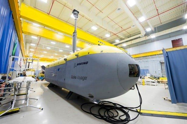 راه اندازی زیردریایی خودکار بوئینگ در آبهای کالیفرنیا+تصویر