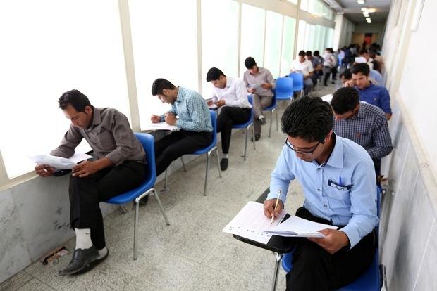 رقابت بیش از 5500 نفر در آزمون استخدامی دستگاه های اجرایی هرمزگان