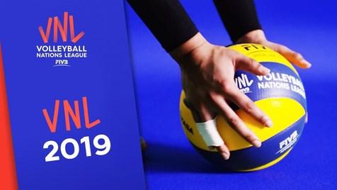 برنامه و نتایج کامل لیگ ملت های والیبال 2019 +جدول