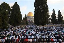 عکس/ مسجد الاقصی در روز عید قربان