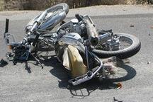 موتورسواران 14 درصد تصادفات فوتی قزوین را تشکیل می دهند