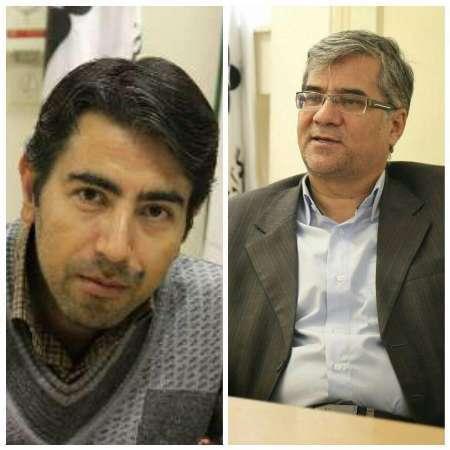سیدحسین قدسی و محسن داوری رتبه برترجشنواره تولیدات خبری ایرنا را کسب کردند