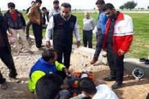 2 کارگر چاه کن افغان در گتوند دچار حادثه شدند