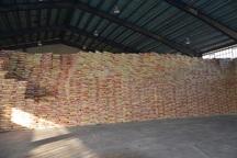 225 تن برنج خارجی در بناب کشف شد