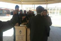 20 هزار جلد قرآن کریم بین زائران پاکستانی توزیع شد