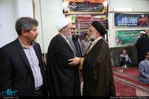 مراسم ختم  پدر حجت الاسلام و المسلمین آشتیانی