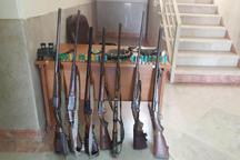 7 شکارچی متخلف طارمی در دام قانون گرفتار شدند
