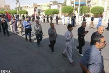 ایرانشهر در اربعین امام حسین (ع) یکپارچه عزادار شد