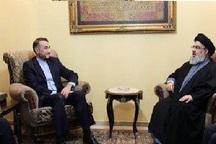 امیرعبداللهیان: ایران از راهحلهای سیاسی در کمک به حل بحرانهای موجود در منطقه حمایت میکند