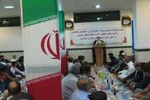 خانواده شهدا و ایثارگران سیستان و بلوچستان افطار مهمان نماینده ولی فقیه بودند