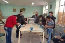 35 دانش آموز معلول شیروان آموزش حرفه ای می بینند