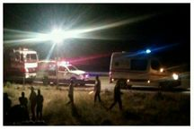 واژگونی تریلی در نیشابور یک کشته داشت