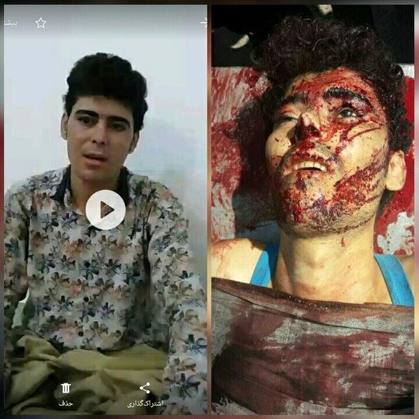 آخرین صحبتهای قاتل شهید نیروی انتظامی قبل از هلاکت