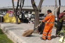 مطالبات کارگران مناطق شهرداری اهواز برای دریافت مزایا است