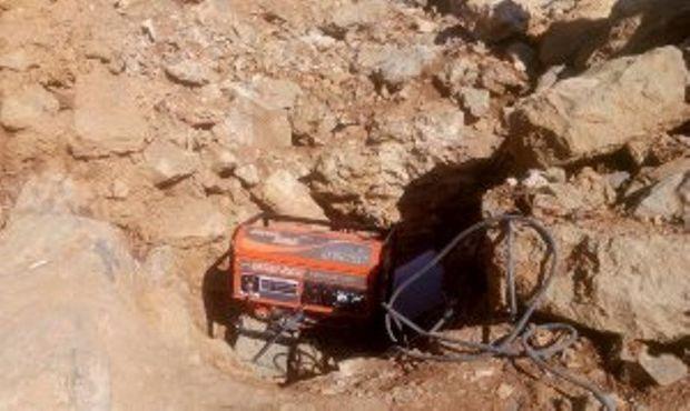 دستگیری پنج حفار غیر مجاز در پلدختر