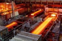 کارخانه نورد تیرآهن گروه ملی فولاد وارد مدار تولید شد