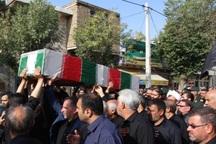 مادر 2 شهید دفاع مقدس در مرودشت تشییع شد
