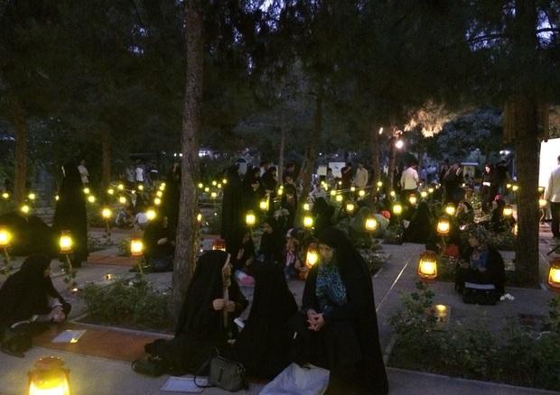 مراسم بزرگداشت شهدای گمنام در بهشت زهرا (س) برگزار شد