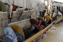 تولید 1388تخته فرش توسط مددجویان کمیته امداد کردستان