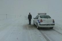 رانندگان از تردد در گردنه مایین بلاغ تکاب خودداری کنند