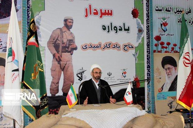 امام جمعه ایلام: شهید یادگار نفس گروه فرسان را گرفت
