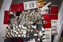 کشف محموله سیگار خارجی قاچاق در تالش