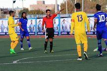 نود ارومیه به صدر جدول لیگ برتر فوتبال آذربایجانغربی صعود کرد