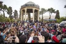 آرامگاه حافظ در صدر مکان های پربازدید مسافران نوروزی فارس