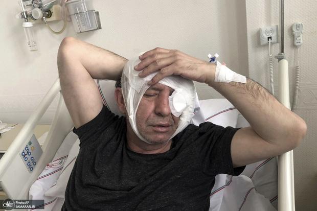 عکس/ ضرب و شتم روزنامه نگار منتقد اردوغان