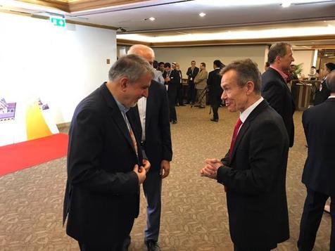صالحی امیری با مسئولان IOC حاضر در مجمع شورای المپیک آسیا دیدار کرد